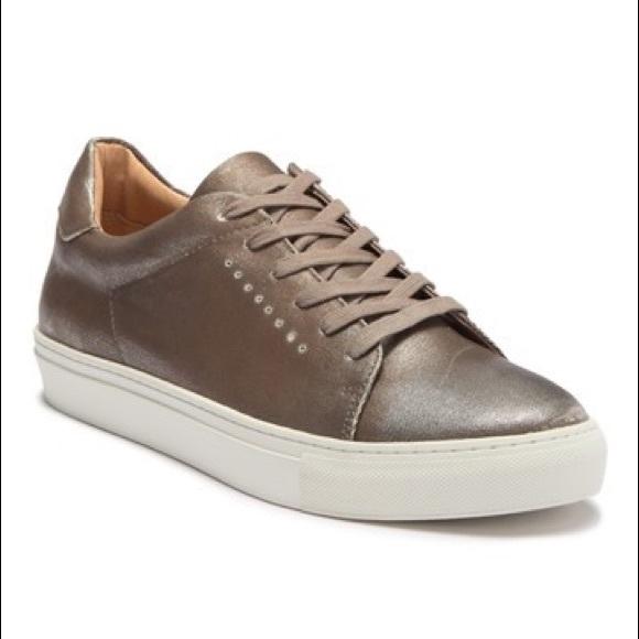 J/SLIDES Other - J/Slides Desmond Perforated Leather Sneaker